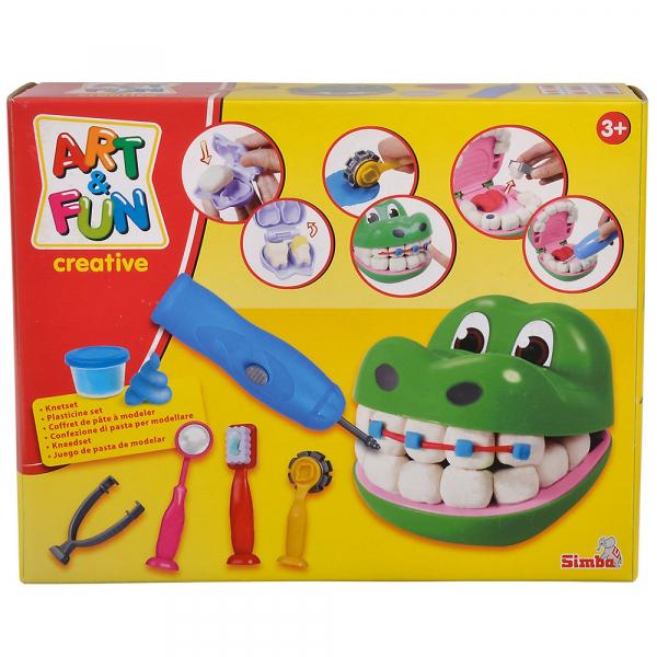 Set dentist Simba Art and Fun Crocodile [19]