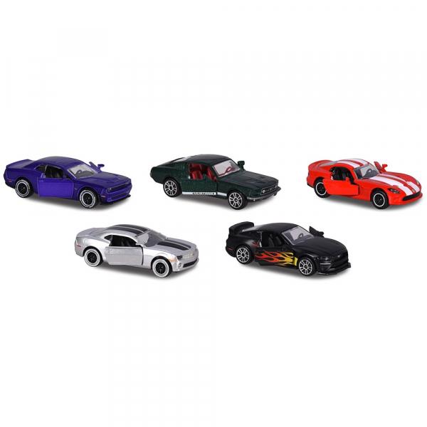 Set Majorette 5 masinute Muscle Cars 0