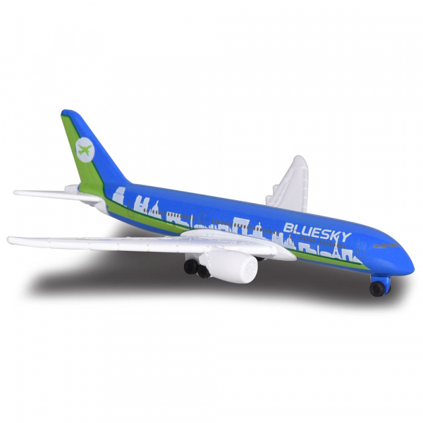 Set Majorette Big Airport Blue Sky cu 12 piese 1