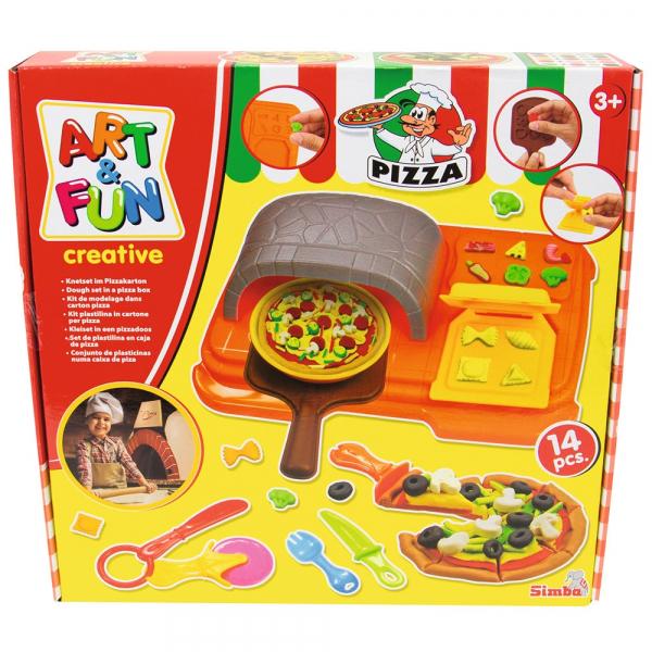 Set Simba Art and Fun Pizza Dough cu 14 accesorii [2]
