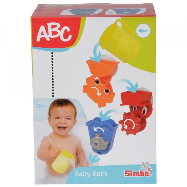 Set Simba Jucarii de baie ABC Baby Bath [6]