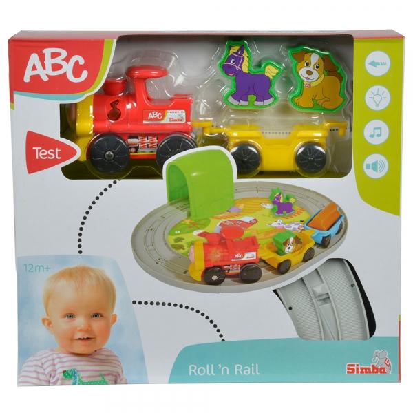 Set Simba Tren ABC Roll'n Rail cu sina circulara si accesorii [5]