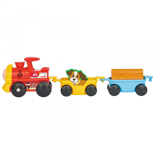 Set Simba Tren ABC Roll'n Rail cu sina circulara si accesorii [2]