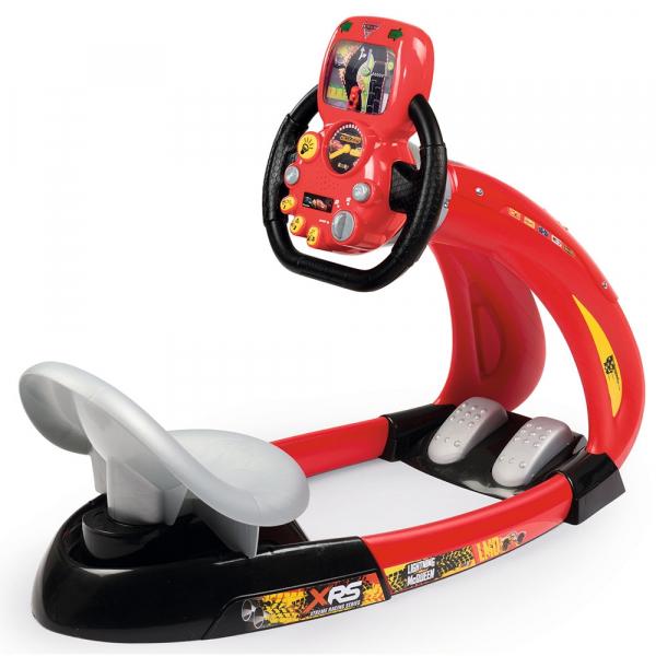 Simulator auto Smoby Cars 3 V8 Driver cu suport pentru telefon 0