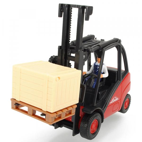 Stivuitor Dickie Toys Cargo Lifter cu accesorii 0