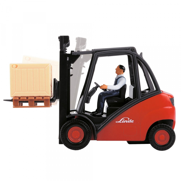 Stivuitor Dickie Toys Cargo Lifter cu accesorii 1