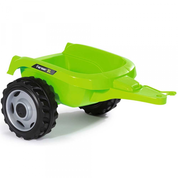 Tractor cu pedale si remorca Smoby Farmer XL verde [2]