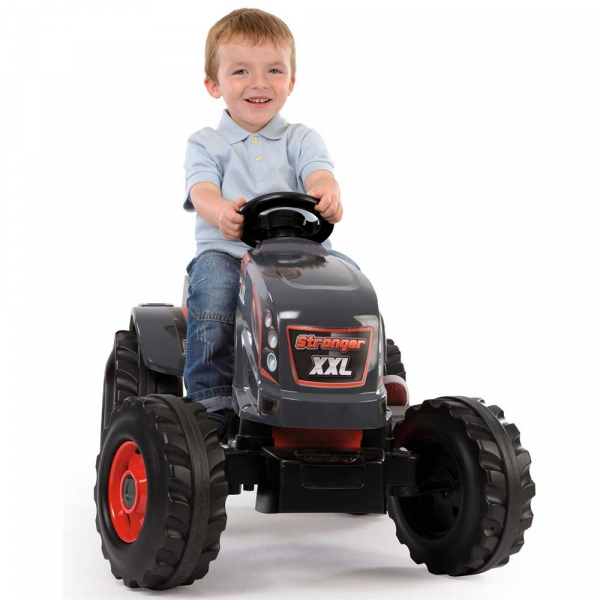 Tractor cu pedale si remorca Smoby Stronger XXL 5