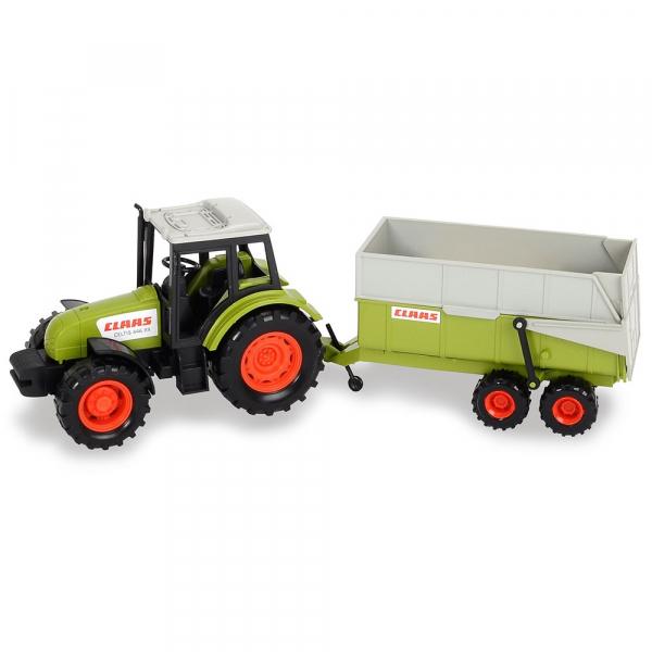 Tractor Dickie Toys Class Celtis 446 RX cu remorca 1