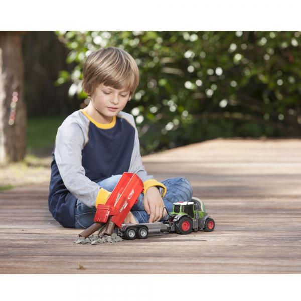Tractor Dickie Toys Fendt 939 Vario cu remorca [7]