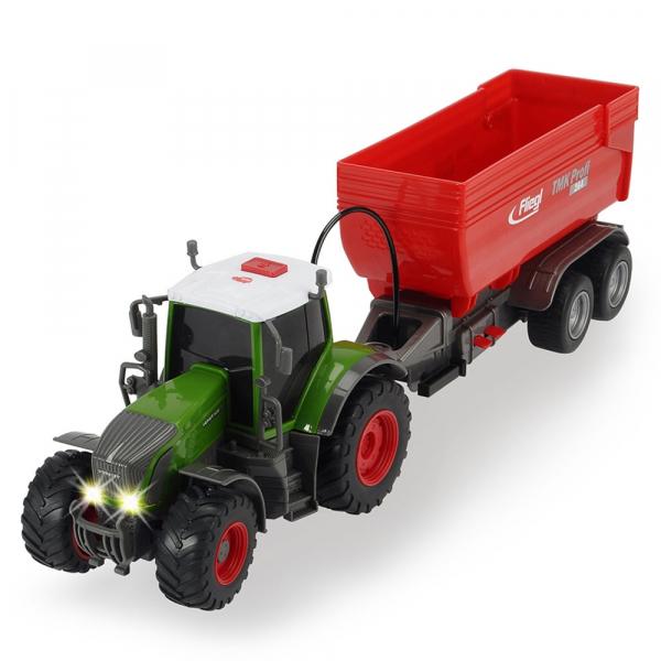 Tractor Dickie Toys Fendt 939 Vario cu remorca [0]