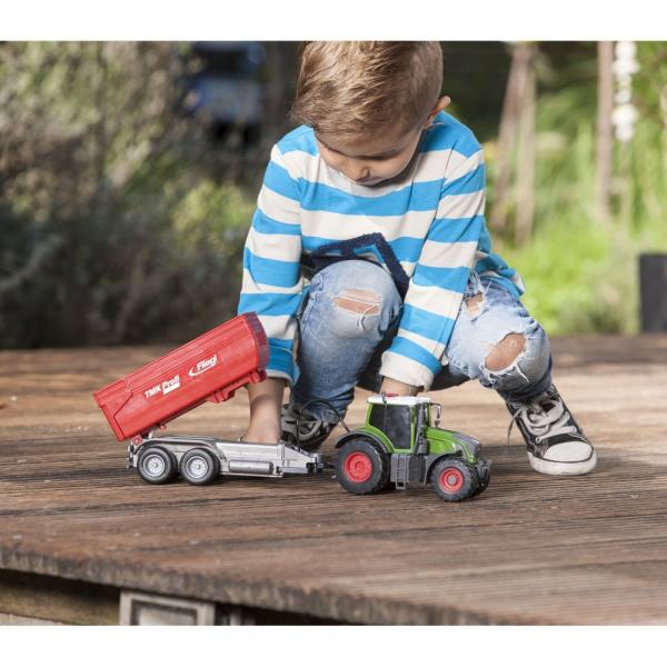Tractor Dickie Toys Fendt 939 Vario cu remorca [6]