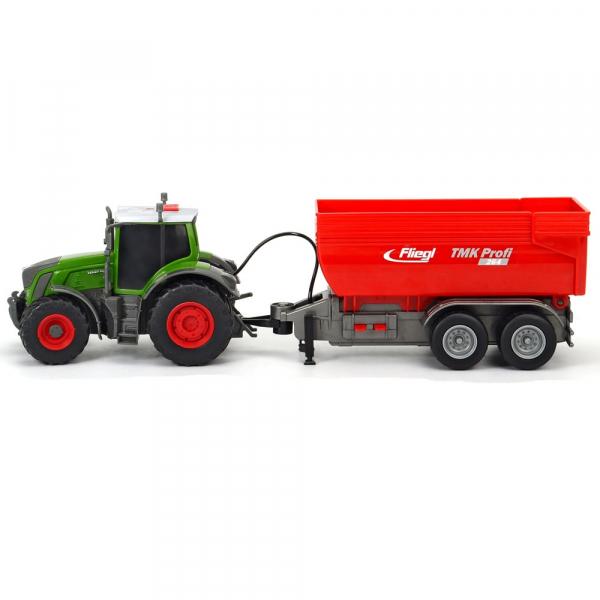 Tractor Dickie Toys Fendt 939 Vario cu remorca [2]