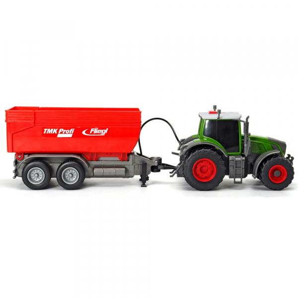 Tractor Dickie Toys Fendt 939 Vario cu remorca [3]