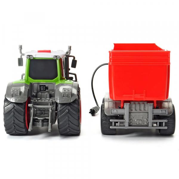 Tractor Dickie Toys Fendt 939 Vario cu remorca [4]