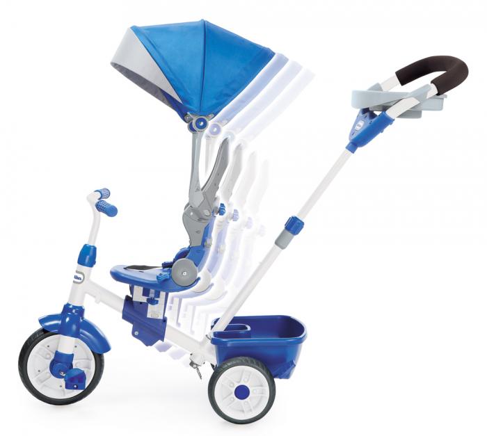 Jucarii Little Tikes – Tricicleta Perfect Fit 4In1 Albastra 1