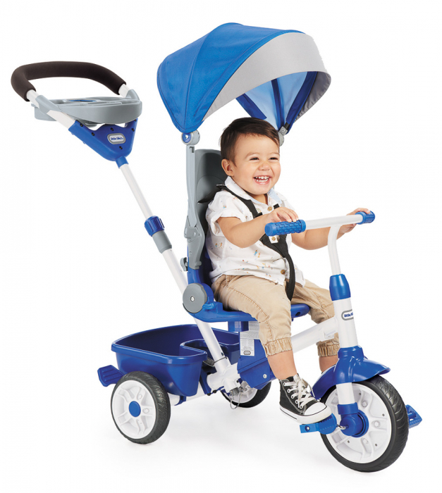 Jucarii Little Tikes – Tricicleta Perfect Fit 4In1 Albastra 3