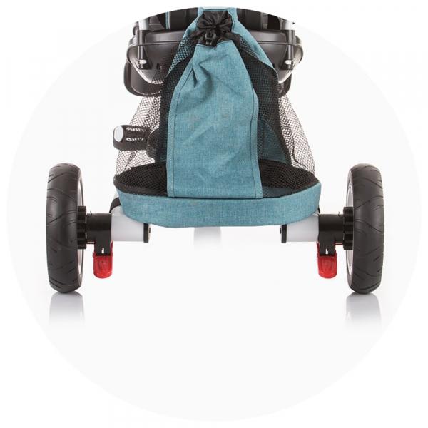 Tricicleta gemeni Chipolino 2Fun grey 7