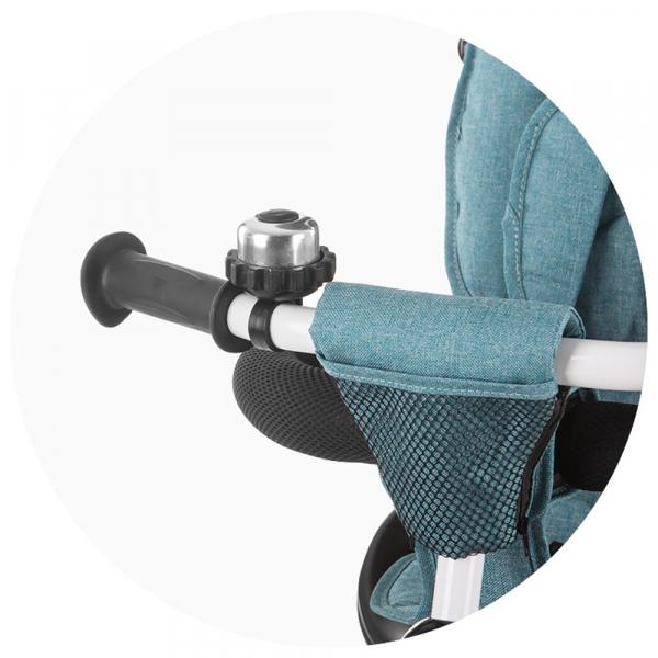 Tricicleta gemeni Chipolino 2Fun grey 8