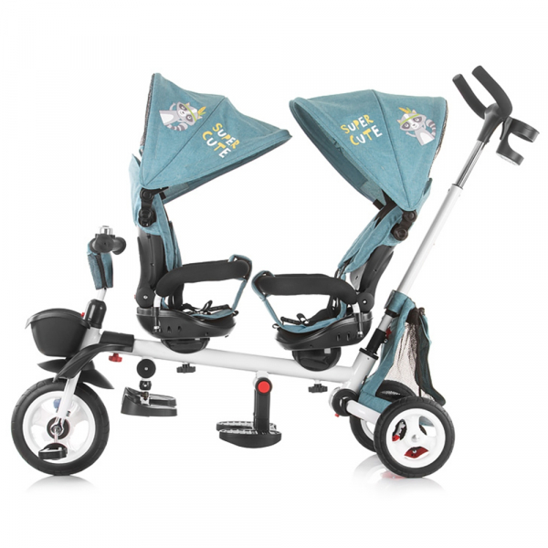 Tricicleta gemeni Chipolino 2Fun grey 3