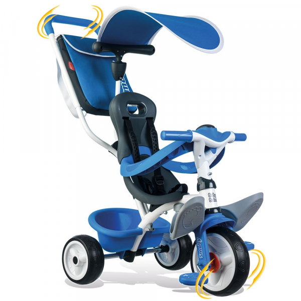 Tricicleta Smoby Baby Balade blue [2]