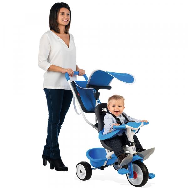 Tricicleta Smoby Baby Balade blue [5]