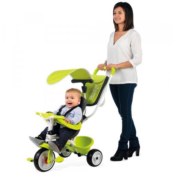 Tricicleta Smoby Baby Balade green [5]