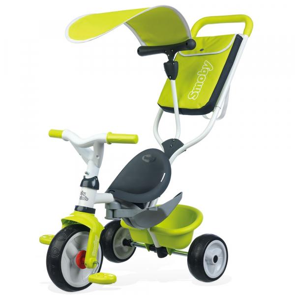 Tricicleta Smoby Baby Balade green [0]