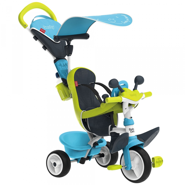 Tricicleta Smoby Baby Driver Comfort blue [1]