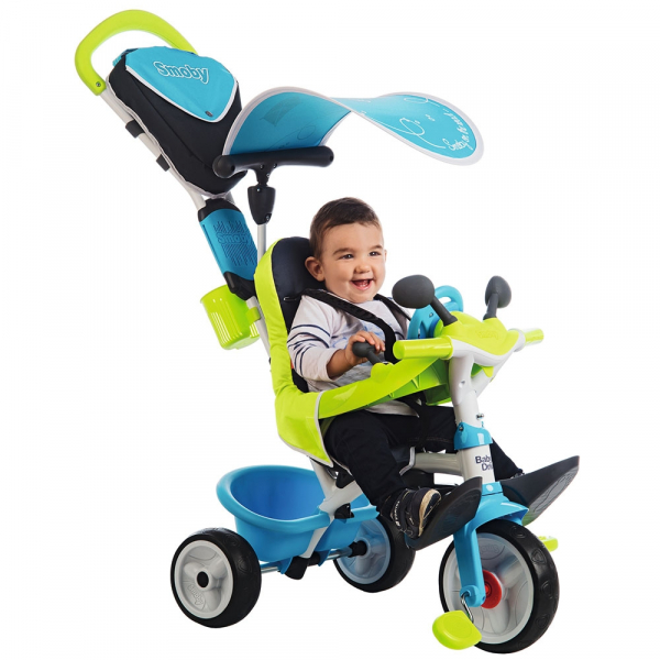 Tricicleta Smoby Baby Driver Comfort blue [9]