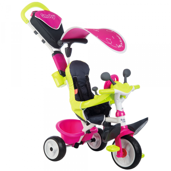 Tricicleta Smoby Baby Driver Comfort pink [1]