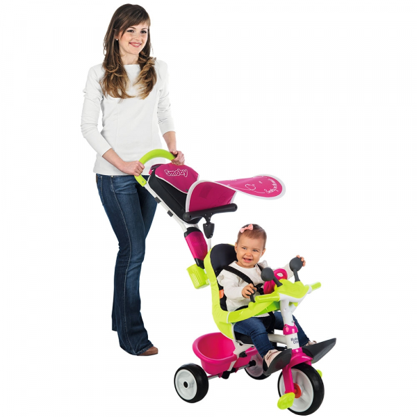 Tricicleta Smoby Baby Driver Comfort pink [9]