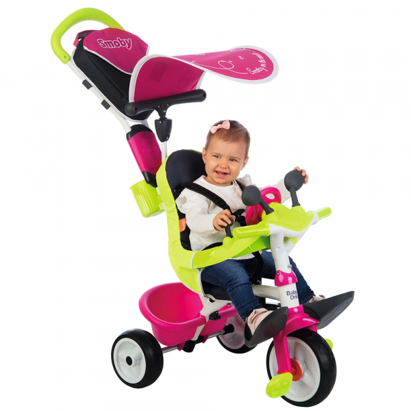 Tricicleta Smoby Baby Driver Comfort pink [10]
