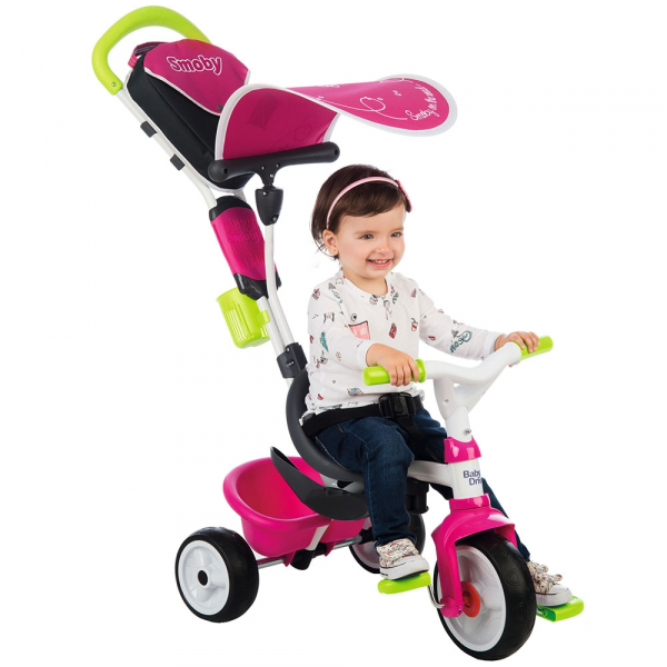 Tricicleta Smoby Baby Driver Comfort pink [11]
