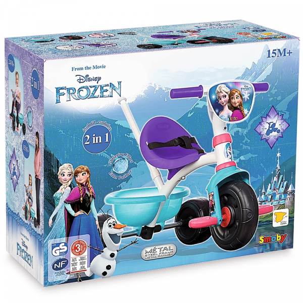 Tricicleta Smoby Be Fun Frozen 4