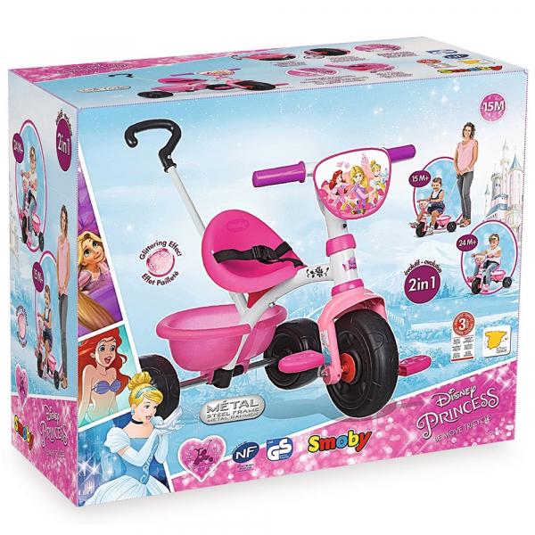 Tricicleta Smoby Be Move Disney Princess 4