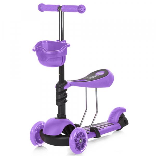 Trotineta Chipolino Kiddy purple [0]