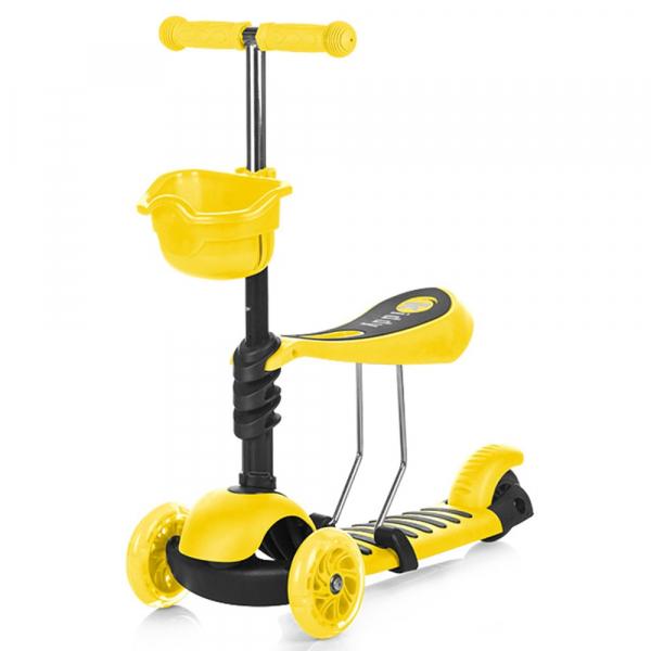 Trotineta Chipolino Kiddy yellow [0]