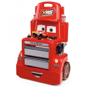 Atelier Smoby Cars XRS Mack cu accesorii0