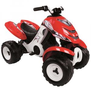 ATV electric Smoby X Power rosu0
