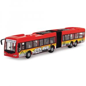Autobuz Dickie Toys City Express Bus rosu1