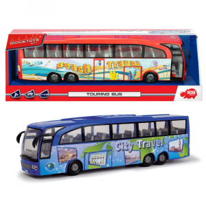 Autobuz Dickie Toys Touring Bus albastru [6]