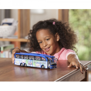 Autobuz Dickie Toys Touring Bus albastru [5]