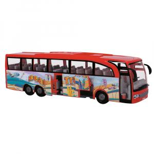 Autobuz Dickie Toys Touring Bus rosu2