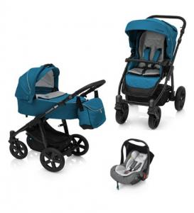 Baby Design Lupo Comfort 05 Turqouise 2018 - Carucior Multifunctional 3 in 1 [0]