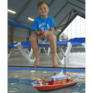 Barca Dickie Toys Fireman Sam Titan cu telecomanda si figurina Sam7