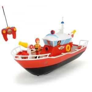 Barca Dickie Toys Fireman Sam Titan cu telecomanda si figurina Sam0