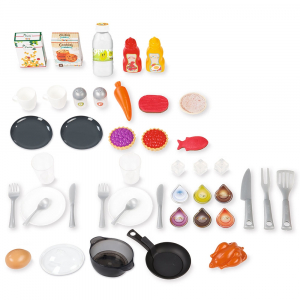 Bucatarie Smoby Tefal French Touch Bubble cu oala magica si accesorii1