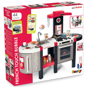Bucatarie Smoby Tefal French Touch Bubble cu oala magica si accesorii7