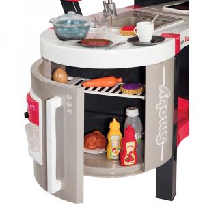 Bucatarie Smoby Tefal Super Chef Deluxe cu grill si aparat de cafea3